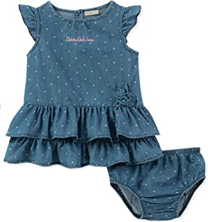 Calvin Klein Baby Girls Dress with Panty Set