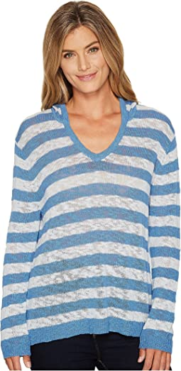 Los Cabos Stripe Pullover Sweater