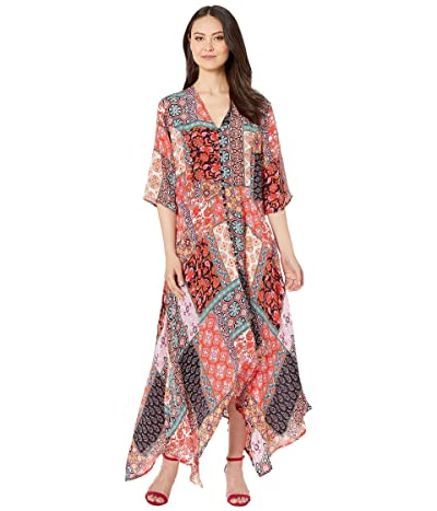 Tolani Clarissa Maxi Dress (Tiles) Women