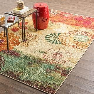 Mohawk Home Strata Pandora Floral Printed Area Rug, 5'x8', Multicolor