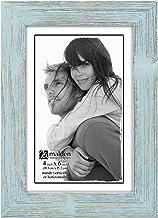 Malden International Designs Linear Picture Frame, 4x6, SEAFOAM BLUE