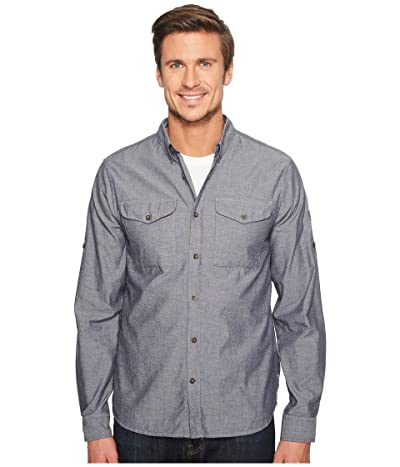 Fjallraven Ovik Chambray Shirt (Navy) Men