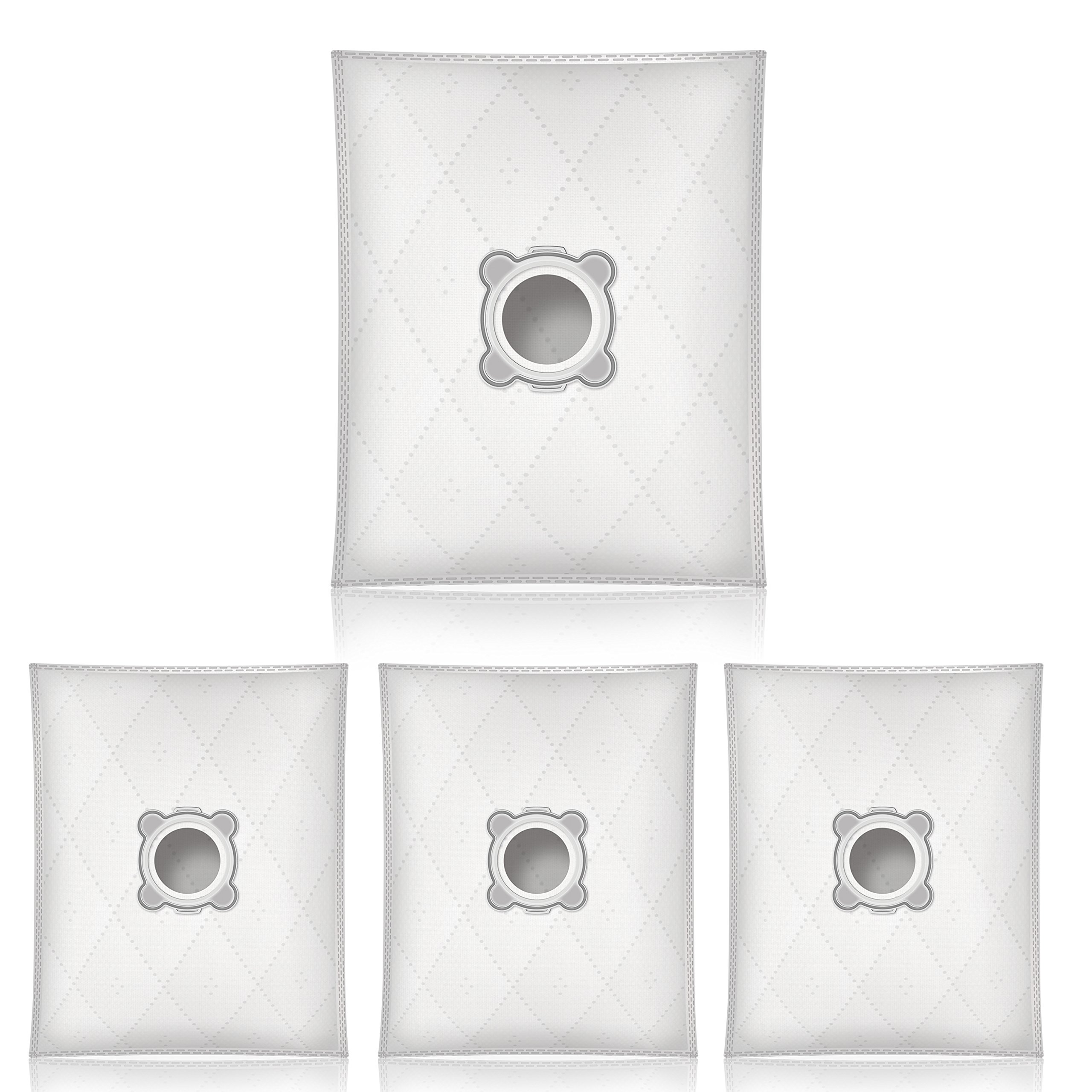 Bolsas de aspiradora para Rowenta RO593111 (4 piezas, sintéticas): Amazon.es: Hogar