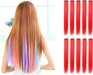 Best clip in red hair extensions Reviews
