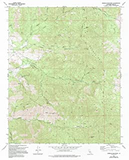 California Maps - 1972 Emerald Mountain, CA USGS Historical Topographic Map - Cartography Wall Art - 44in x 55in