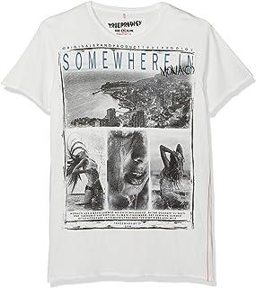 Trueprodigy Bodyshot, Camiseta para Hombre, Gris (Darkgrey 5203), Medium amazon gris