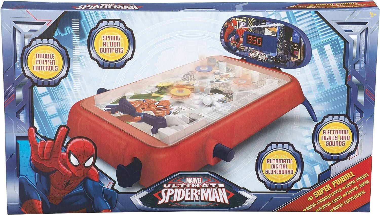 Unbekannt SAMBRO Ultimate Spiderman Super Pinball (mittel) B00LHRB9RS In hohem Grade geschätzt und weit Grünrautes herein und heraus  | Verschiedene Stile
