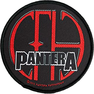 / tiss/ée /& Licence. / Pantera Patch/  / Vulgar Film of Power/  G/én/érique Pantera Badges/