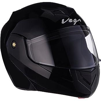 Vega Crux DX Flip-Up Helmet (Black, M)