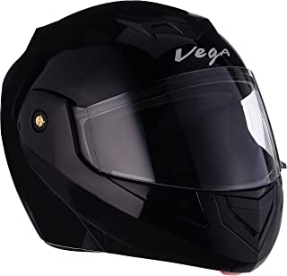 Vega Crux DX Flip-Up Helmet (Black, M)