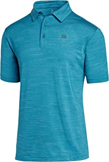 Sponsored Ad - Three Sixty Six Golf Shirts for Men - Dry Fit Short-Sleeve Polo, Athletic Casual Collared T-Shirt