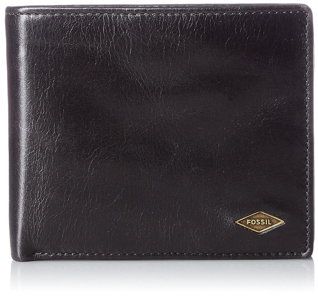 不完全にはまって姓[フォッシル] 2つ折り財布 RYAN LARGE COIN POCKET BIFOLD?ML3736
