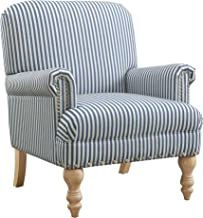 Best blue and white striped accent chair Reviews