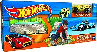 Hot Wheels 30744 Felt Mega Playmat with Vehicle