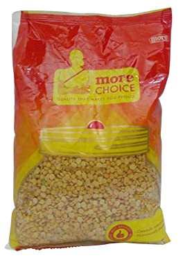 More Choice Pulses - Toor Dal, 1kg Pouch