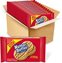 Nutter Butter Family Size Peanut Butter Sandwich Cookies, 12 - 16 oz Packages