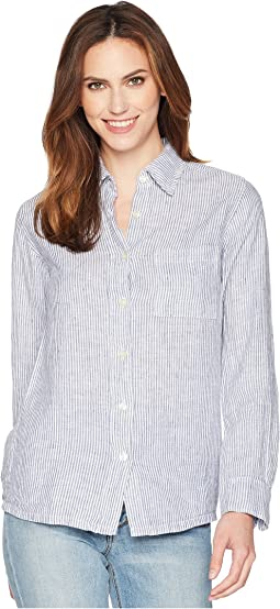 Allen Allen Long Sleeve Stripe Shirt