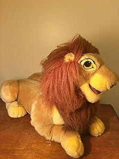 Disney Lion King Exclusive 17 Inch Deluxe Plush Figure Adult Simba