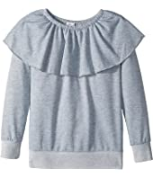 Splendid Littles - Melange French Terry Tunic Top (Big Kids)