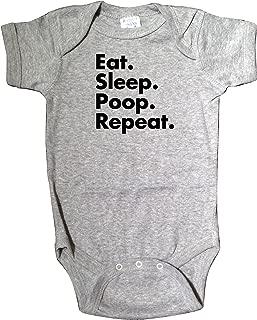 eat sleep poop repeat onesie