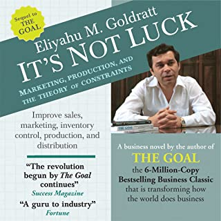 It's Not Luck: Marketing, Production, and the Theory of Constraints