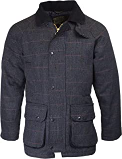 Walker & Hawkes - Mens Derby Tweed Shooting Hunting Country Jacket - Blue Tweed