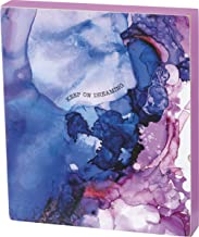 """Primitives by Kathy Friendship Heart Gallery Block Sign, 6"""" x 7"""", Keep On Dreaming"""