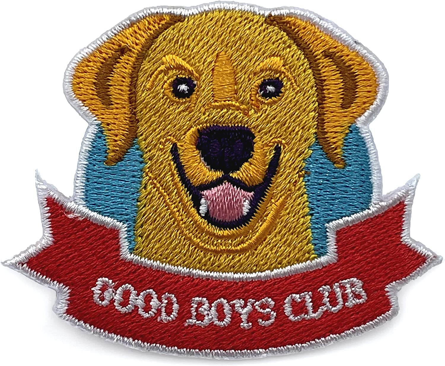 Wasted All items in Max 42% OFF the store Days Tan Good Boys Club O Embroidered Patch 100% Iron Dog