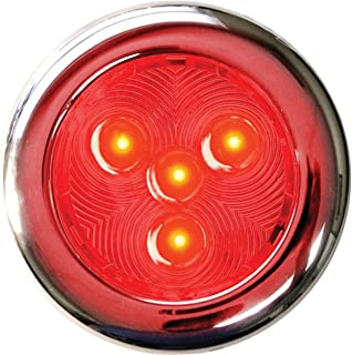 T-H Marine LED-51897-DP Stainless LED Puck Light,  3 - Red