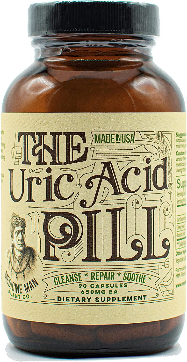 Medicine Man free Plant Co. - The Uric 55% OFF Repair – Pill Acid S Cleanse