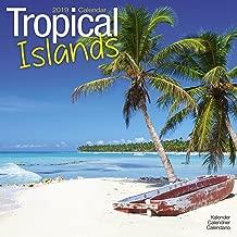 Beaches Calendar - Calendars 2018 - 2019 Wall Calendars - Sunset Calendar - Photo Calendar - Tropical Islands 16 Month Wall Calendar by Avonside