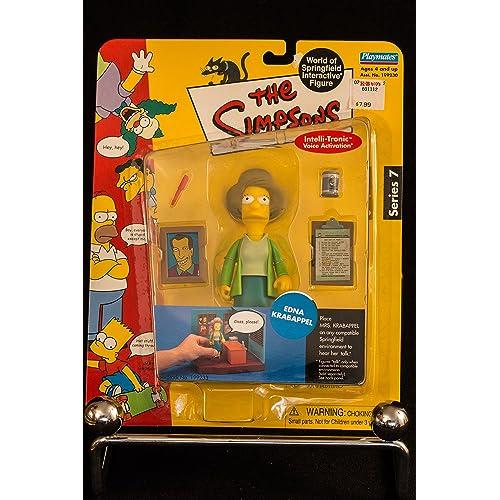 Simpsons Series 7 Edna Krabappel Action Figure