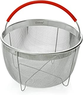 Original Salbree Steamer Basket for 6qt Instant Pot Accessories, Stainless Steel Strainer..