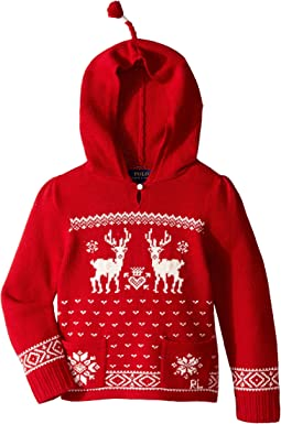Polo Ralph Lauren Kids - Hooded Sweater (Toddler)
