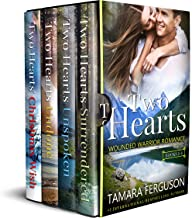 TWO HEARTS WOUNDED WARRIOR ROMANCE (Books 1-4)