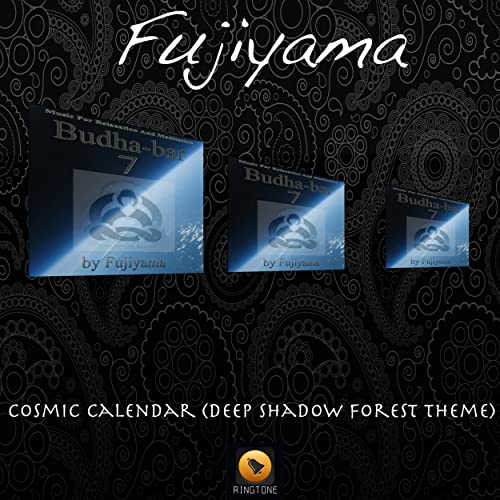 Cosmic Calendar.Cosmic Calendar Deep Shadow Forest Theme By Fujiyama On Amazon