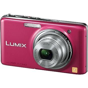 パナソニック デジタルカメラ LUMIX FX77 グラマラスピンク DMC-FX77-P