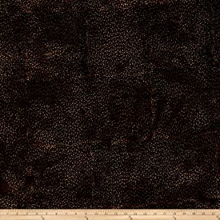 Hoffman Bali Batik Dot Antique Black Fabric by The Yard