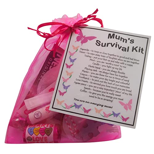 Mum Survival Kit Gift For Mummy Mother Birthday Gift Mothers Day Gift
