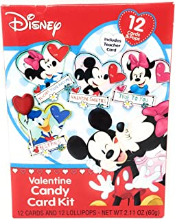 Licenced Character Valentines Day Lollipop Swap Bundle, 2 Pack, 24 Count (Mickey and Friends)