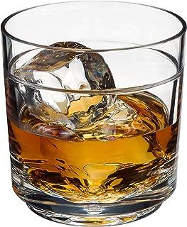 Drinique ELT-RK-CLR-4 Elite Rocks Unbreakable Tritan Whiskey Glasses, 10 oz (Set of 4), Clear
