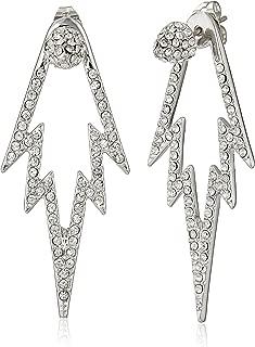 The Crystal Pop Double Sided Drop Earrings