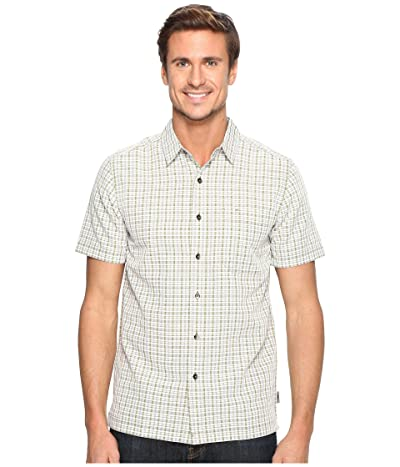 Royal Robbins Mojave Pucker Plaid Short Sleeve (Desert) Men