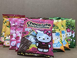 KC Commerce HELLO KITTY Marshmallow Variety Pack (Variety Pack of 10)