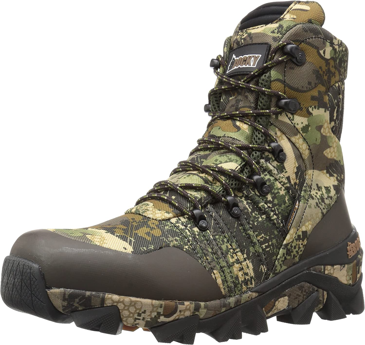 Rocky Mens RKS0327 Closed Toe Ankle Cold Weather Boots