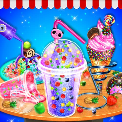 Crazy Summer Food Making Game - Summer Desserts and Icedish, Ice Candy Slush Maker, Cones Bars - Fair Food Maker Games FREE - Food Fever Craze Chef restaurant Games
