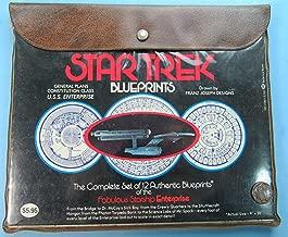 Star Trek Blueprints: the Complete Set of 12 Authentic Blueprints of the Fabulous Starship Enterprise General Plans, Constitution Class, U. S. S. Enterprise