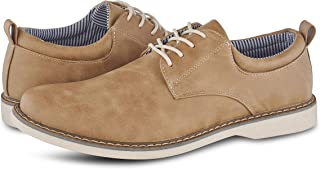 Members Only Men's Plain Toe Oxford Classic Business Casual Shoes