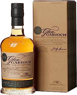 Glen Garioch 12 Jahre Highland Single Malt Scotch Whisky, mit Geschenkverpackung, mit Finish in Bourbon- und Sherryfässern, 48% Vol, 1 x 0,7l