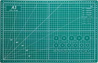 "AIRGAME 12"" x 18"" Green Professional Self Healing 5-Ply Double Sided Durable Non-Slip PVC Cutting Mat Great for Scrapbooki..."